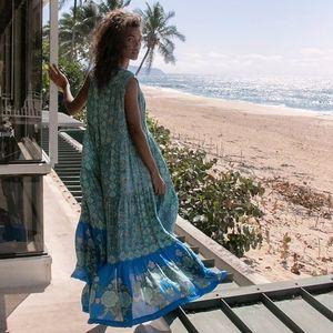 NEW Free People Hanalei Bay maxi dress